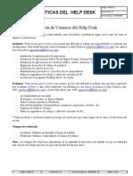 56723239 Politicas Help Desk