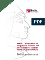 MUL112 Gramática Pedagógica ELE MULI a.
