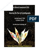 Boston Biotech Symposium on Crystalography