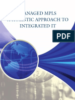 MANAGED MPLS A HOLISTIC APPROACH TO INTEGRATED IT