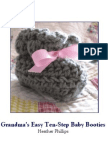 Grandma's Easy Baby Booties