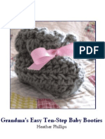 Grandma's Easy Baby Booties