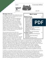 Community Bulletin - July 2014