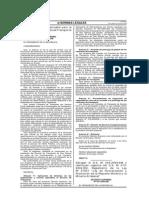 Derogan El Decreto Supremo Nº 005-2009-EM y Restituyen Vigencia Del Decreto Supremo Nº 013-2002-EM, Reglamento de La Ley Nº 27651 - Ley de Formalización y Promoción de La Pequeña Minería y Minería Artesanal