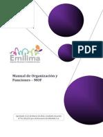 (Manual de Organización y Funciones - MOF)