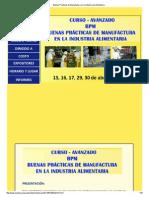 Buenas Prácticas de Manufactura en La Industria de Alimentaria