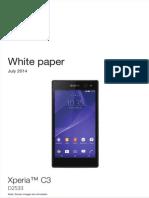 Whitepaper en d2533 Xperia c3