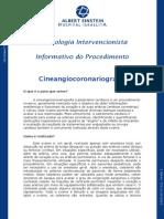 Informativo Cineangiocoronariografia Portugues