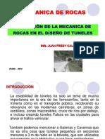 Aplicación de Mec. de Rocas en Diseño de Tuneles