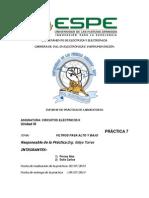 Informe Filtro Bajo y Alto