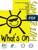 What's On Leeds Summer Guide web 2014