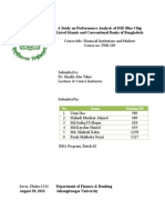 Performance analysis of Islamic Banking and Conventional Banking