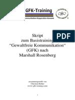 Gewaltfreie Kommunikation - Training - Nach Rosenthal