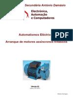 Automatismos Eléctricos - Arranque de motores assíncronos trifásicos