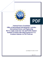 NSF Application Guide
