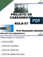 PROJETO CABEAMENTO  - AULA7