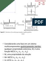 Termodinâmica Química - Propriedades Parciais Molares (1)