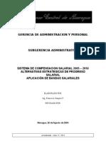 Sistema de Compensacion Salarial 2005