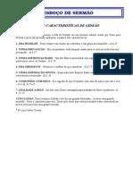 Esboço-Sete Caracteristicas de GIDEÃO