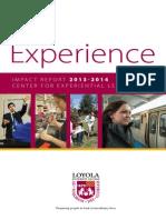 CEL IMPACT 2013-2014 Annual Report