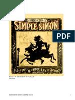 Simple SimonSilhouette Series by Anonymous