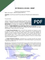 Parecer Técnico n. 01 App - Porto Chibatão