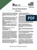 Answering Asking