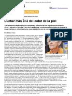 Página_12 __ Espectaculos __ Luchar Más Allá Del Color de La Piel