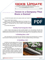 Should You Invest in a Company That Owns a Casino