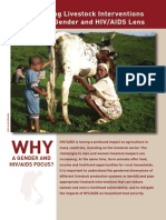 Planning livestock interventions with a gender and HIV/AIDS lens