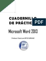 Cuadernillo 2013 - Word
