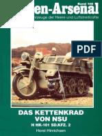 Waffen Arsenal - Band 148 - Das Kettenrad von NSU - H HK-101 Sd.Kfz. 2