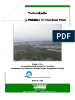 Yellowknife Community Wildfire Protection Plan