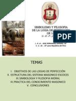 Simbolismo y Filosofía de la Logia de Perfección Grado 14°