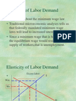 The Elasticity of Labor Demand