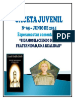 Gaceta Juvenil Ecb Nº 65 - Junio 2014