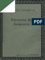 Parra Schopf Estructura Del Antipoema