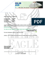 FAKE Young Eagle Loan Confirmation