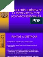 Regulacion Jurdica de La Informacion y de Los Datos Personales