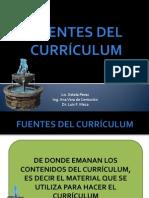 Fuentes Del Currículum