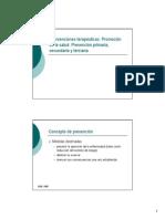 Prevención Primaria, Secudnario y Terciaria (Www.unioviedo.es)