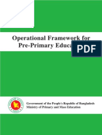 Operational Framework for Pre-primary Education English