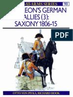 (S) Osprey - Men at Arms 090 - Napoleon's German Allies (III) Saxony 1806-1815