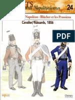Osprey - Delprado - Soldats Des Guerres Napoléoniennes - 024 - Les Ennemis de Napoléon - Blucher Et Les Prussiens - Cavalier Hussards 1806