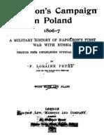 Osprey - Napoleon's Campaign in Poland 1806-1807 (Osprey)