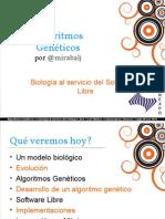 Algoritmos Geneticos Software Libre Jinme Mirabal