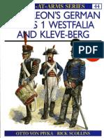 Osprey,Napoleon's German Allies - Westfalia and Kleveberg