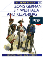 Osprey,Napoleon's German Allies - Westfalia and Kleveberg