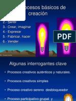 Los Procesos Basicos de Creacion
