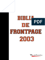 Blia of FrontPage 2003
